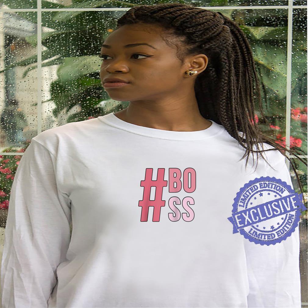 #Boss Word Stack Shirt hoodie