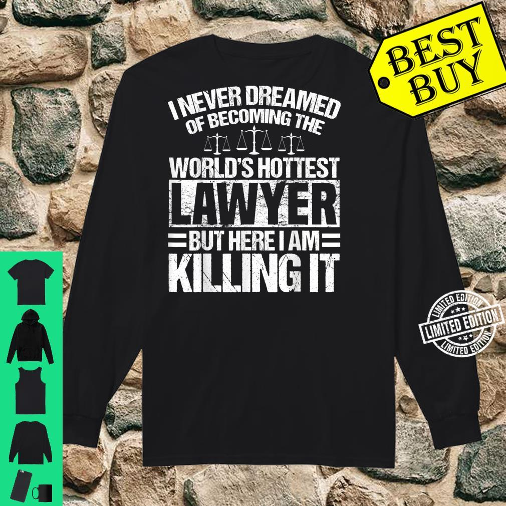 Funny Lawyer Apparel Best Lawyers Design Shirt long sleeved