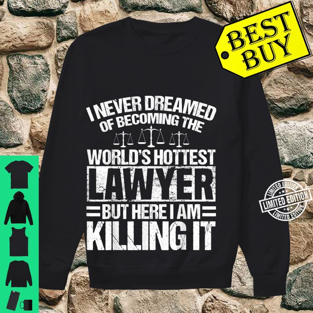 Funny Lawyer Apparel Best Lawyers Design Shirt sweater