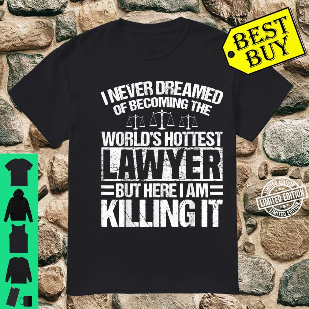 Funny Lawyer Apparel Best Lawyers Design Shirt
