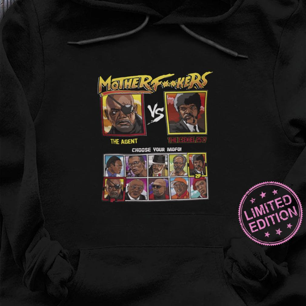 Mother fuckers the agent the ezekiel 28 17 choose your mofo shirt hoodie