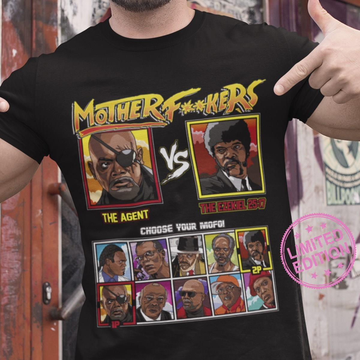 Mother fuckers the agent the ezekiel 28 17 choose your mofo shirt