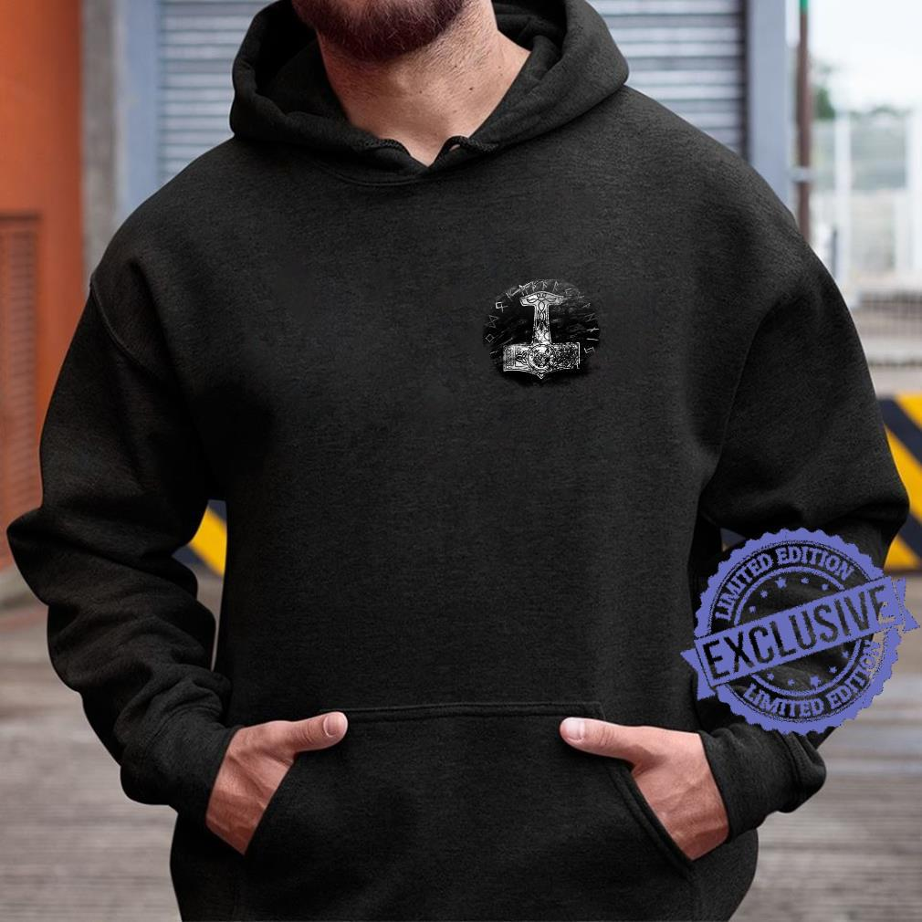 Thors Hammer, Hammer der Götter, Wikinger, Norse Shirt hoodie