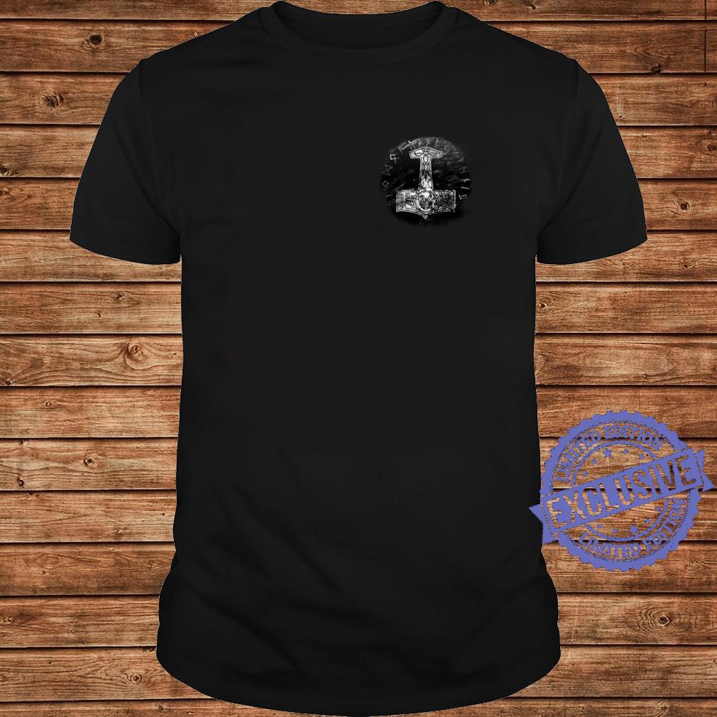 Thors Hammer, Hammer der Götter, Wikinger, Norse Shirt long sleeved