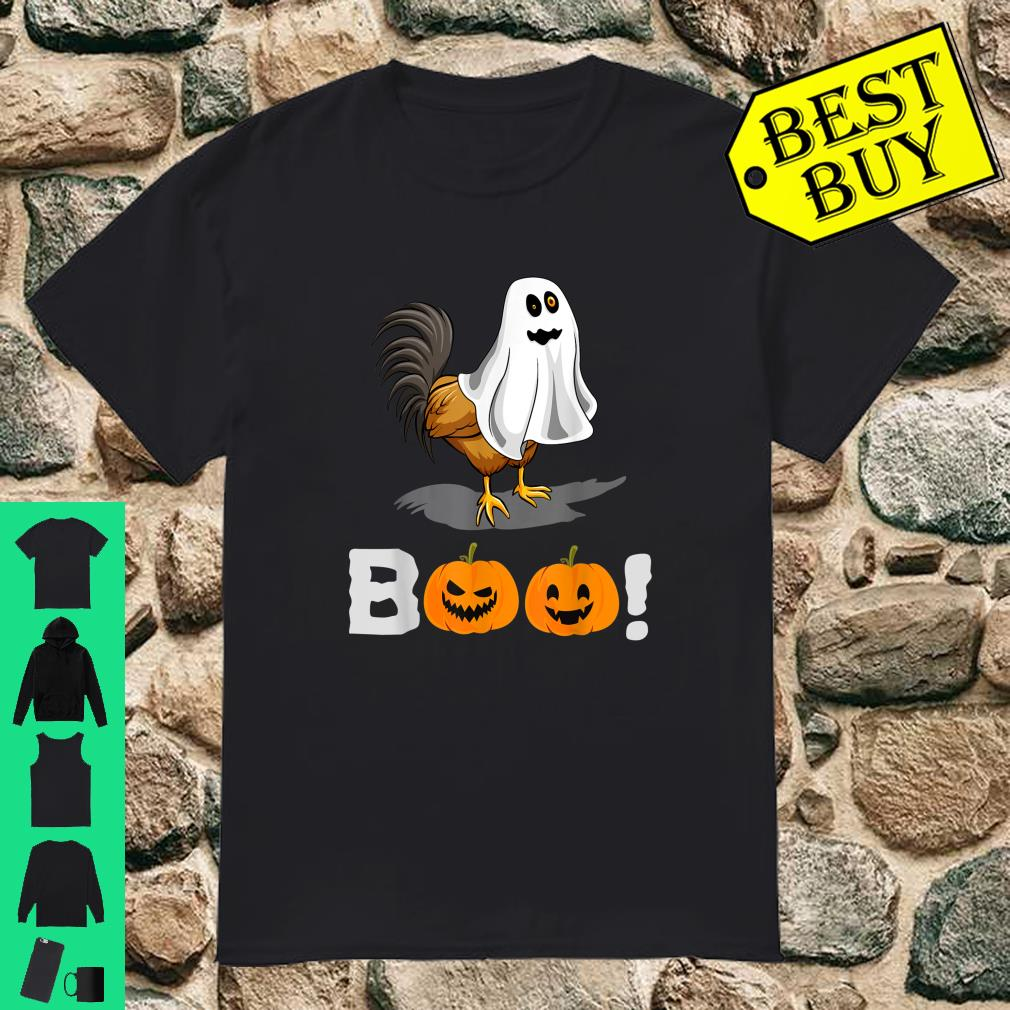 Chicken Boo Pumpkin Halloween Costume shirt