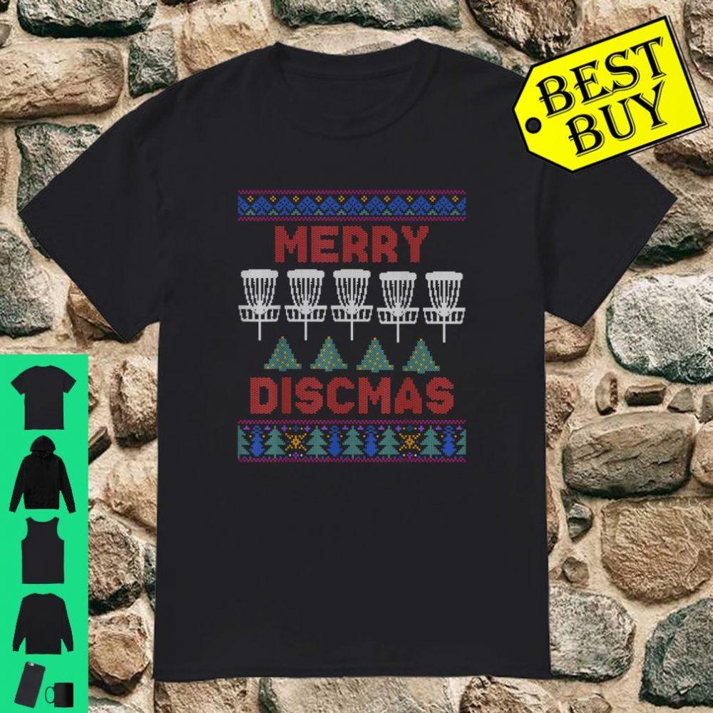 Disc Golf Frisbee Player Ugly Christmas shirt