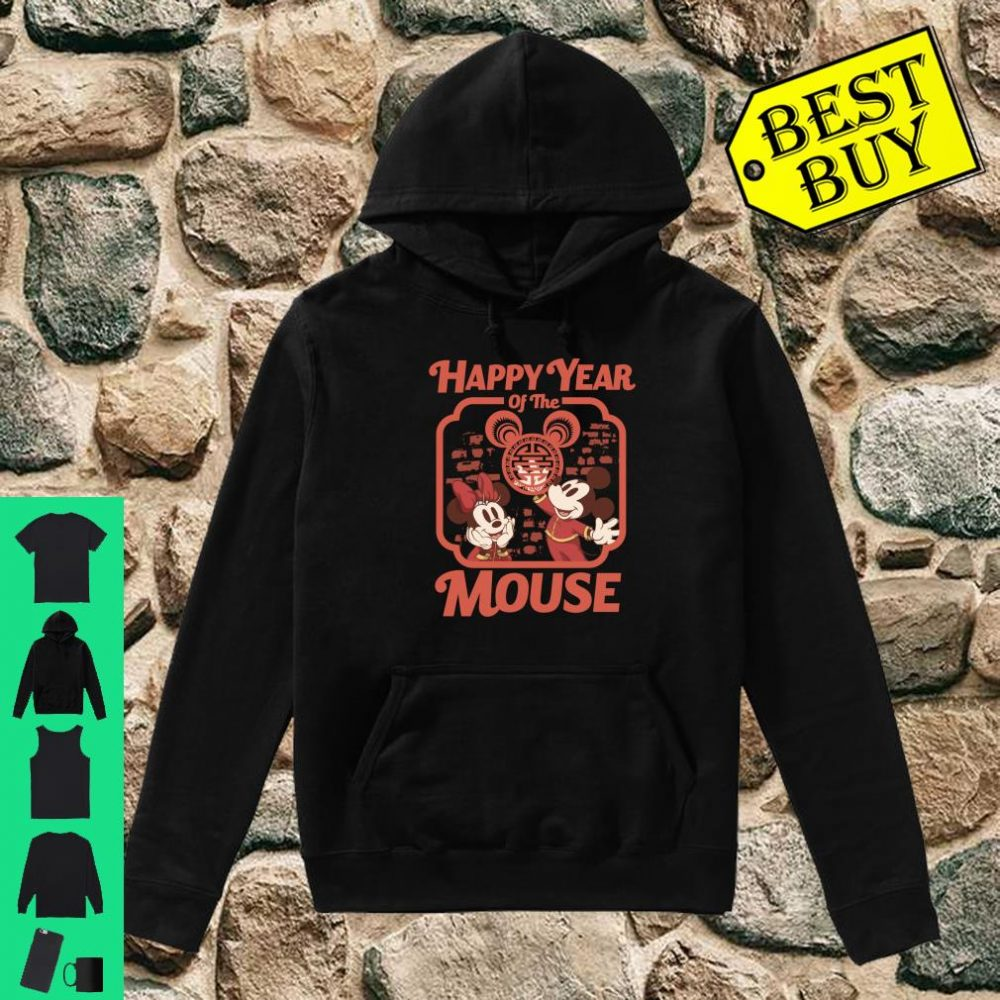 Disney Mickey And Friends Happy Year Of The Mouse shirt hoodie