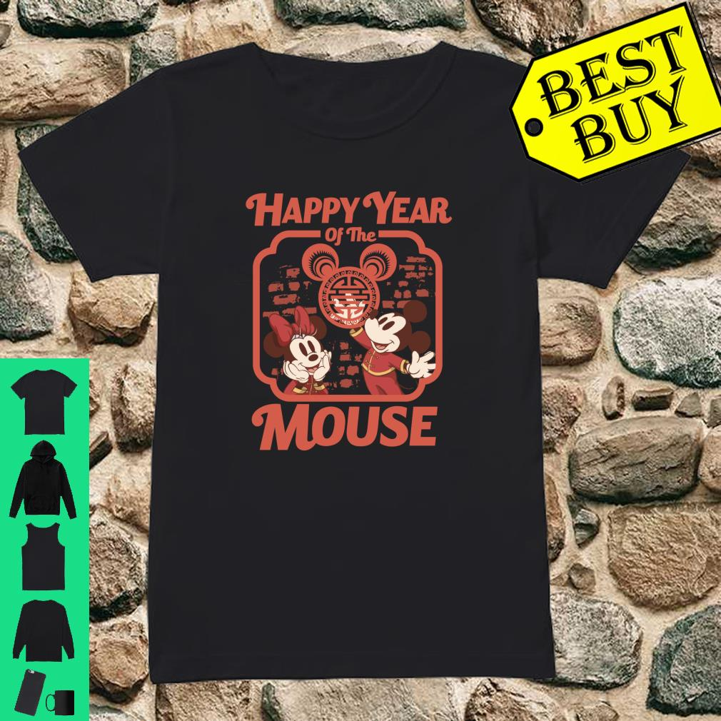 Disney Mickey And Friends Happy Year Of The Mouse shirt ladies tee
