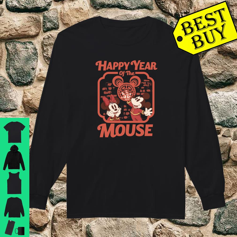 Disney Mickey And Friends Happy Year Of The Mouse shirt long sleeved
