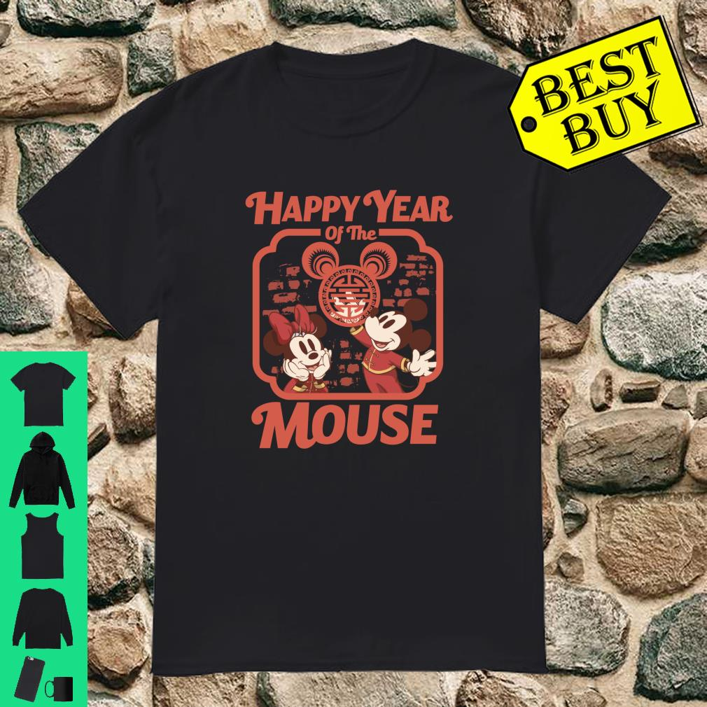 Disney Mickey And Friends Happy Year Of The Mouse shirt