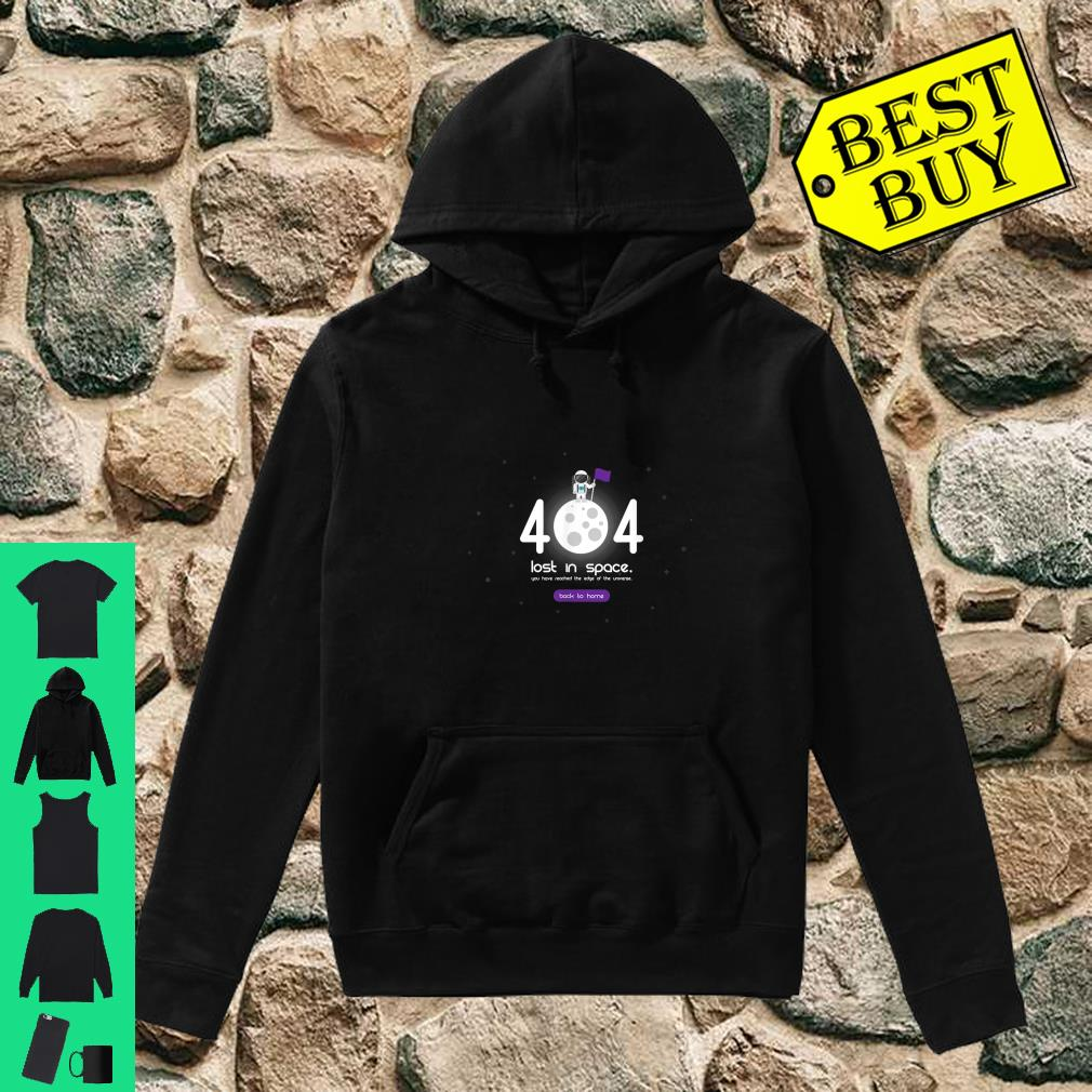 Error 404 Costume is Not Found occasion space shirt hoodie