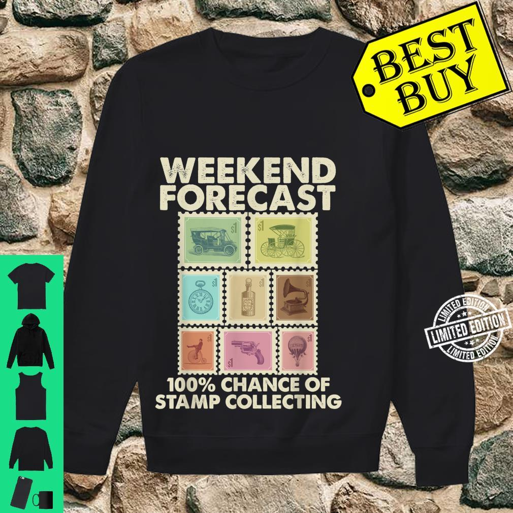 Funny Stamp Collecting Postal Collector Shirt sweater