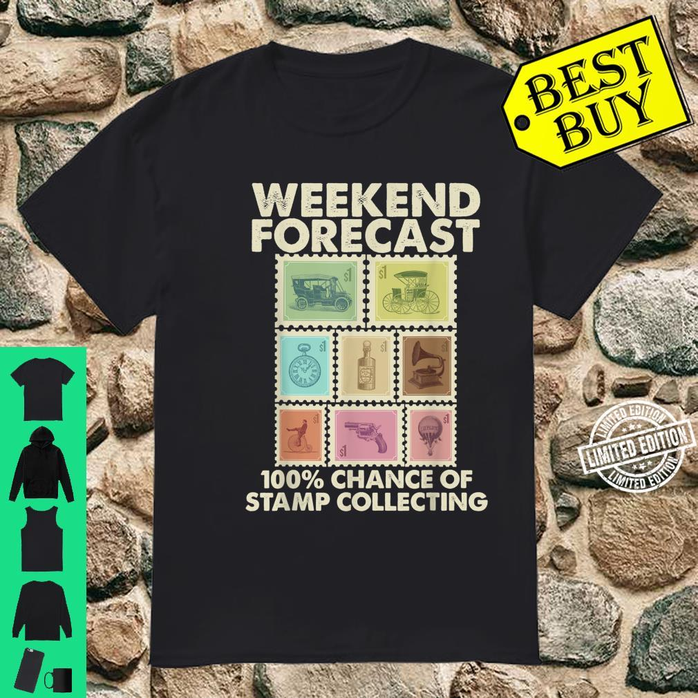 Funny Stamp Collecting Postal Collector Shirt