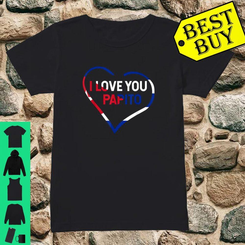 I Love You Papito Cuba San Valentin Happy Valentine's shirt ladies tee