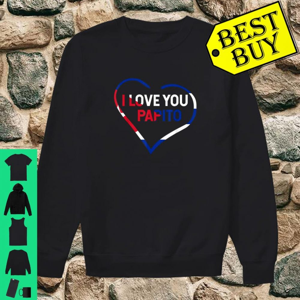 I Love You Papito Cuba San Valentin Happy Valentine's shirt sweater