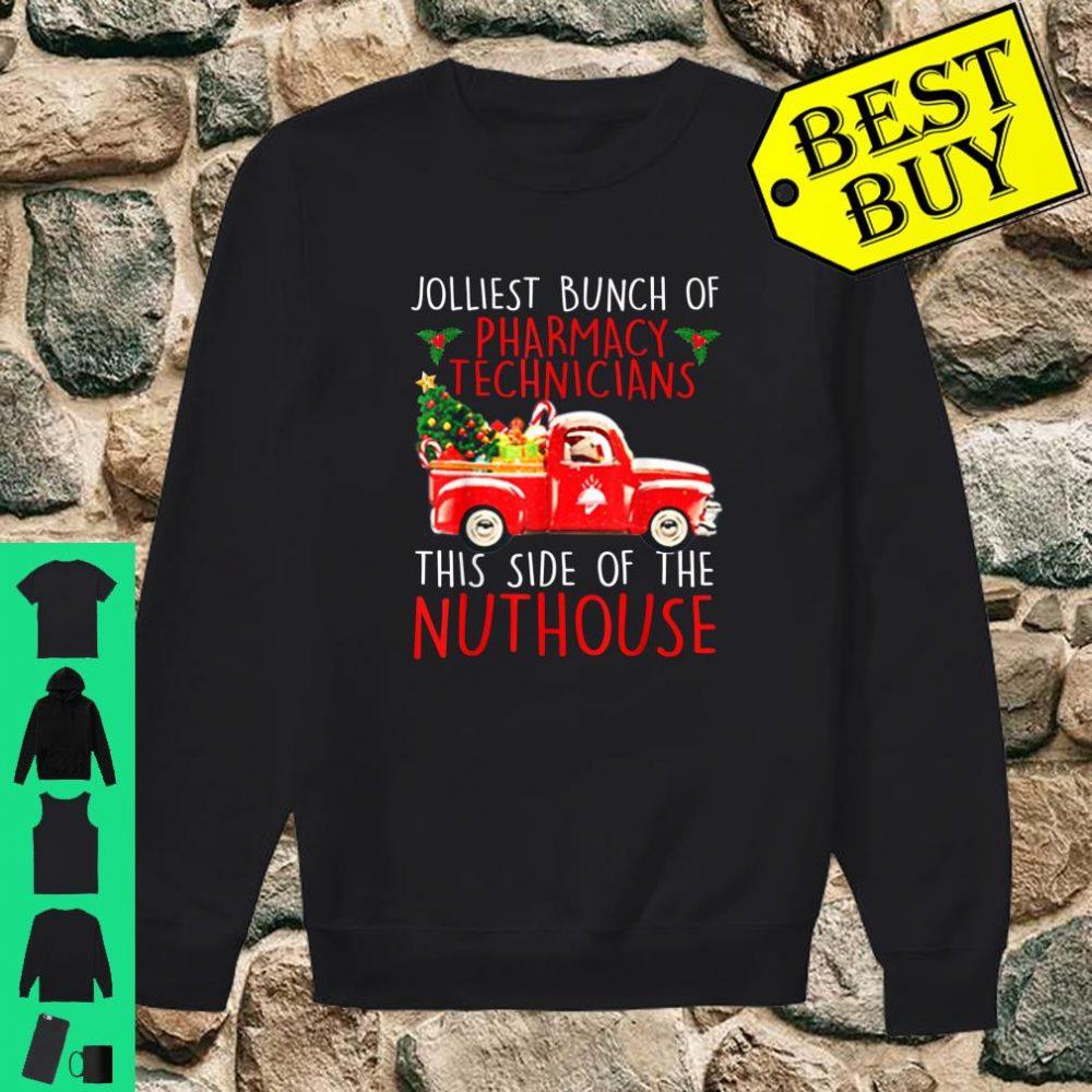 Jolliest Bunch Of Pharmacy Technicians Christmas shirt sweater
