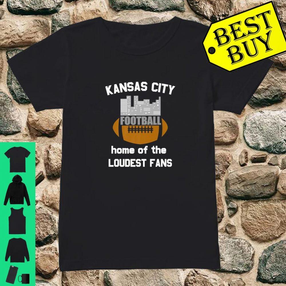 Official Kansas City Football Fan Loud Cheer Support Team ...