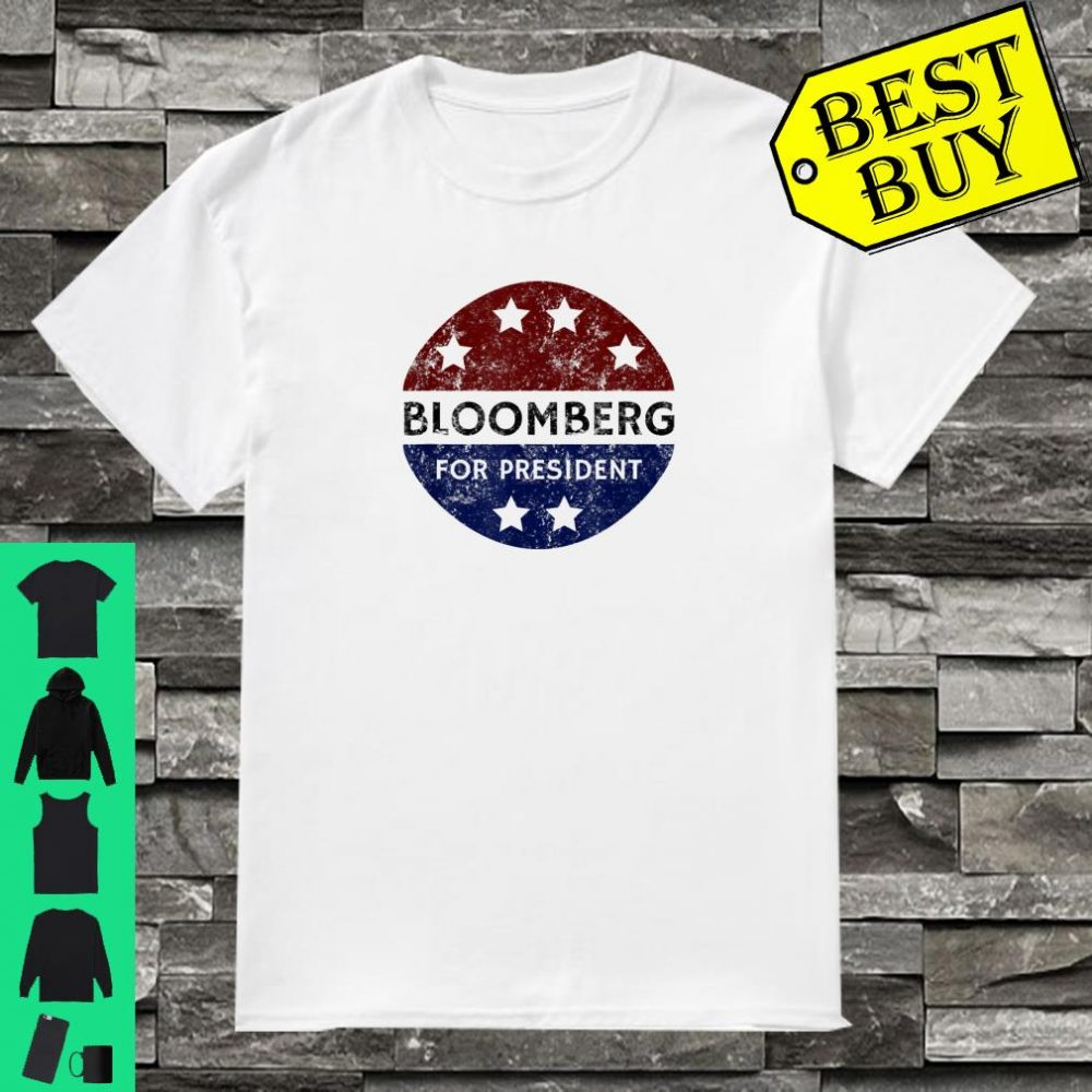 Vintage Bloomberg 2020 Michael Bloomberg For President shirt